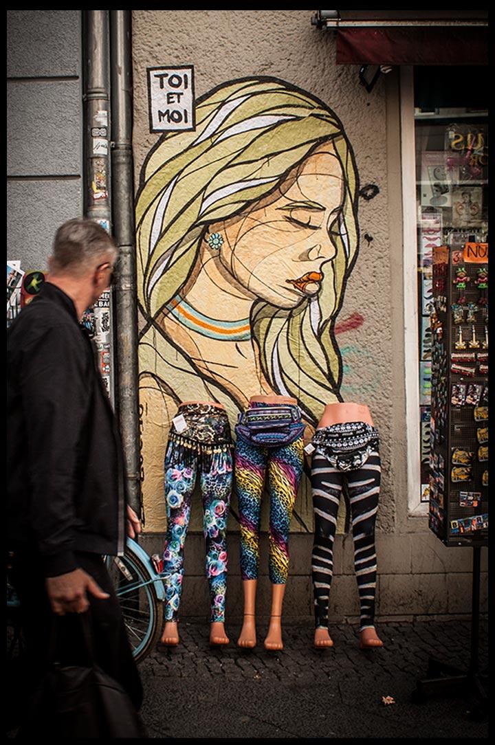 el bocho urban art street art tape art berlin. Black Bedroom Furniture Sets. Home Design Ideas